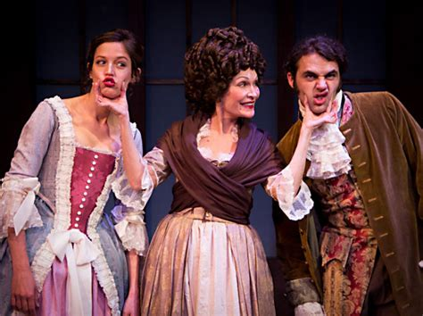 themes in the book she stoops to conquer review she stoops to conquer arts the austin chronicle
