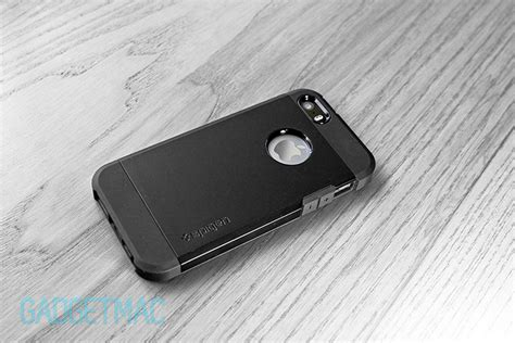 Spigen Type Slim Armor For Iphone 5g Gold spigen tough armor iphone 5s review gadgetmac