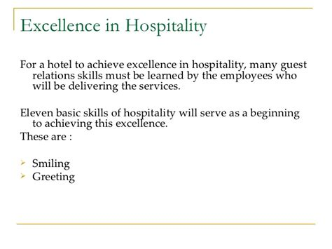 thank you letter to 1st grade guest services in hospitality industry