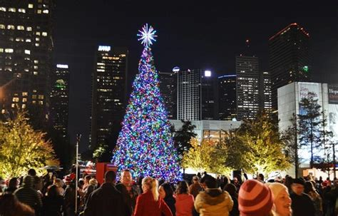 christmas lights from dallas on the ground dallas amazing destination for new years 2019