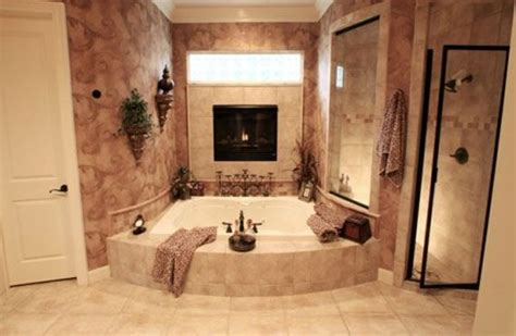 i have always loved a double sided fireplace that is shared with the tub for two fireplace walk in shower only i want a two
