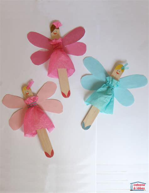 Halloween Craft Preschool - popsicle stick fairies fun family crafts