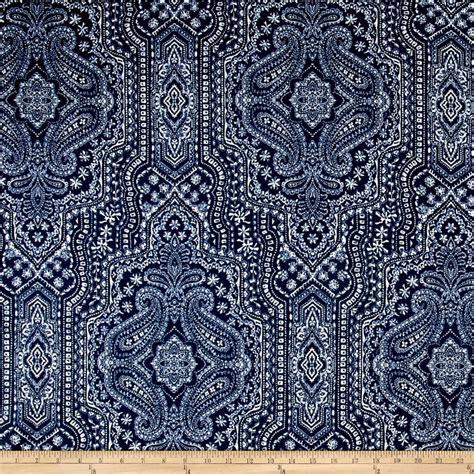 Find Upholstery by P Kaufmann Vintage Find Indigo Discount Designer Fabric
