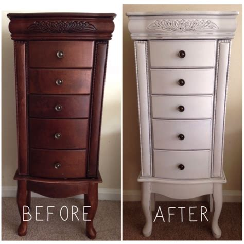 jewelry armoire makeover diy jewelry armoire makeover the quot c quot experience