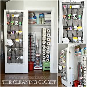 Cleaning Closet Ideas by The 36th Avenue Cleaning Tips Diy Cleaning Closet
