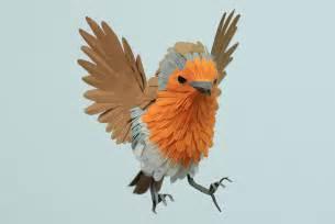 Paper Bird Sculpture Paper Bird Sculptures By Diana Beltran Herrera Shelby