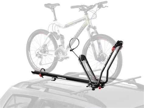 How To Attach Bikes To Bike Rack by Yakima King Cobra Wheels On Roof Rack Groups