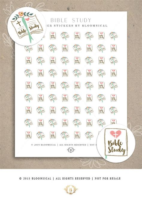 printable bible stickers bible study stickers printable planner stickers erin