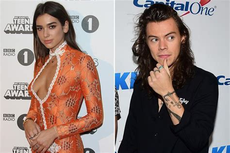 dua lipa vital stats dua lipa hits back at speculation she and harry styles are