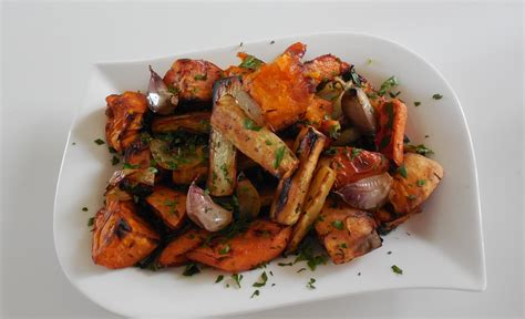 ina garten pan roasted root vegetables roasted winter root vegetables recipe dishmaps