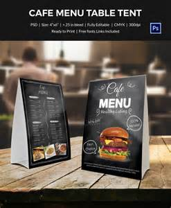 Table Menu Template by Table Tent Template 37 Free Printable Pdf Jpg Psd