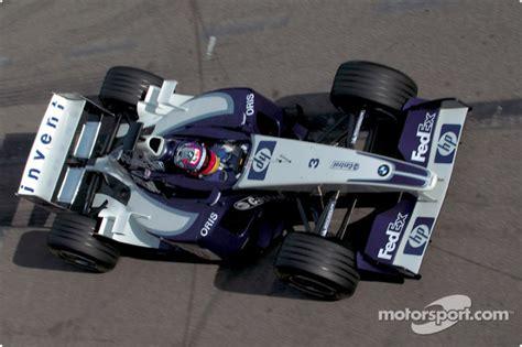 Wheels Williams F1 Fw23 Juan Pablo Montoya juan pablo montoya tests the new bmw williams f1 fw25 at