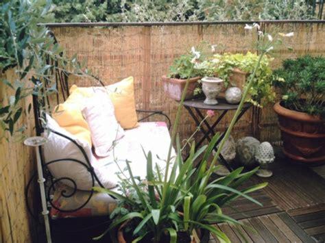 Kleiner Balkon Möbel by Bambus Balkon Sichtschutz Gestaltung Ideen Im Feng Shui Stil
