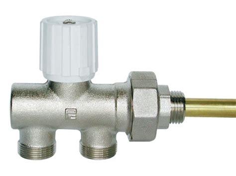 rubinetto termosifone valvole monotubo