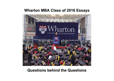 Wharton Mba Essay Timps by What Do You To Gain Professionally From The Wharton