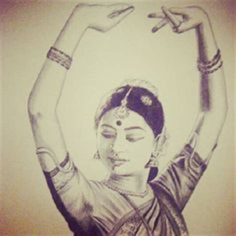 pencil sketch   bharatanatyam dancer dance drawings