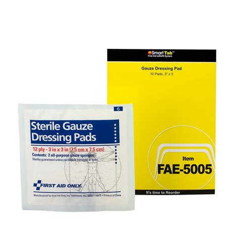 Refill Aseptic Gel 500cc One Med smartcompliance refill 3 quot x3 quot sterile gauze pads five bags