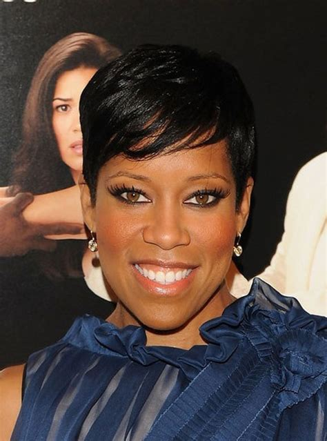 black women hairstyles short on one side and long on the other short haircuts for black women 2012 2013 short
