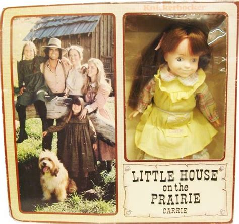 little house on the prairie dolls little house on the prairie carrie ingalls doll knickerbocker