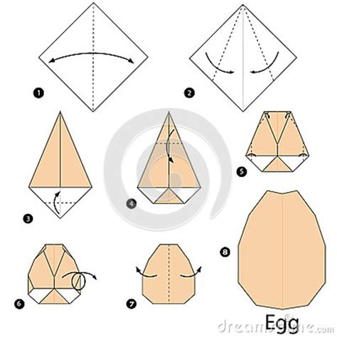 origami egg pin by wearing loving on inspiration