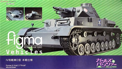 Figma Vehicles Panzer Iv Ausf D Finals Equipment Set figma vehicles panzer iv ausf d finals completed package1