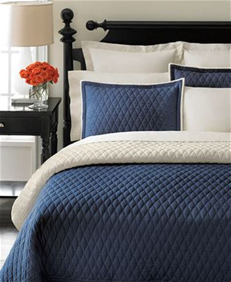closeout martha stewart collection solid navy