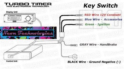 portman turbo timer wiring diagram efcaviation