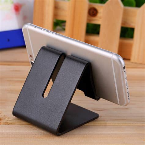 cell phone holder for desk universal cell phone desk aluminum stand holder for mobile phone tablet pc zr ebay