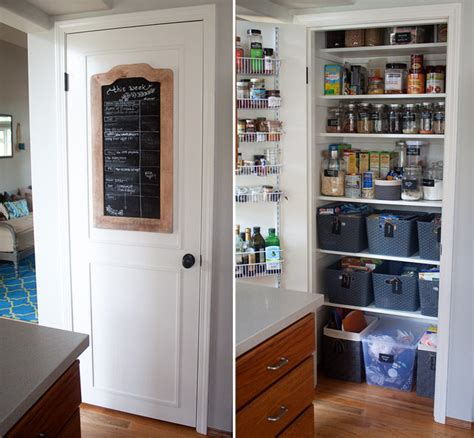 Small Kitchen Pantry Ideas | how we organized our small kitchen pantry kitchen treaty