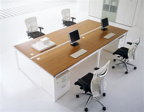 Modern Office Furniture by The Technology Modern Office Furniture The Wooden Houses