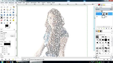 crear imagenes jpg online gimp crear una imagen hecha de texto youtube