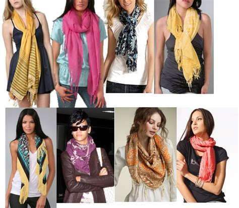 8 Cool Ways To Wear A Scarf by Fidgety Fingers The Many Ways To Wear A Scarf