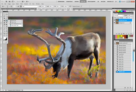 oil painting tutorial photoshop cs5 simulate oil painting with adobe photoshop cs5 the