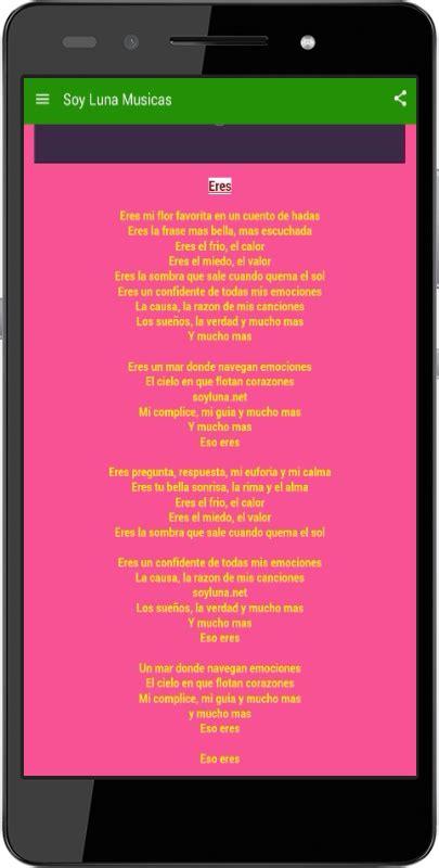imagenes de la cancion de soy luna valiente soy luna m 250 sica con letras app ranking and store data