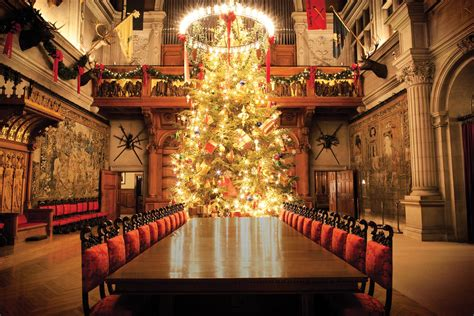 biltmore estate banquet hall at christmas skimbaco