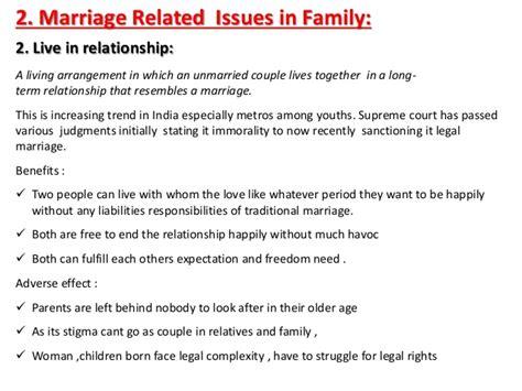 social problems  family