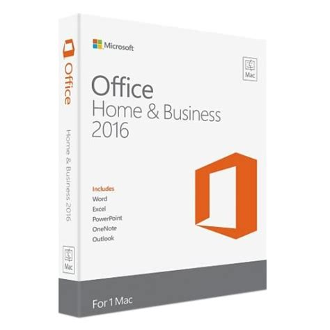 microsoft office home and business 2016 1 mac america