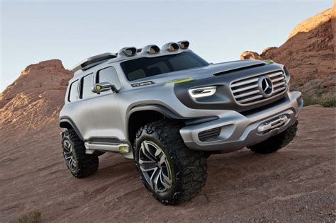 concept off road truck mercedes to debut ener g force off road concept in l a