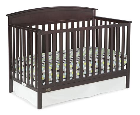 Graco Crib Models by Graco Benton 5 In 1 Convertible Crib Espresso