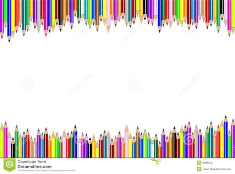 Notice Clipart School Background Pencil And In Color by Horizontal Pencil Background Stock Vector Illustration