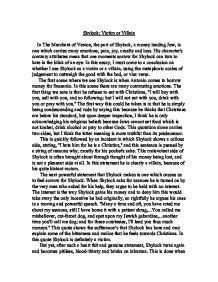 Shylock Victim Or Villain Essay Introduction by Shylock Victim Or Villain Essay Introduction Copywriteropenings Web Fc2