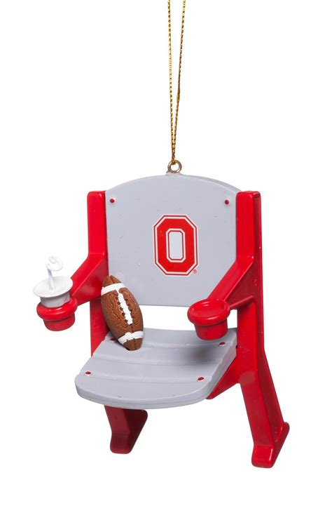 ncaa stadium chair christmas ornament ohio state