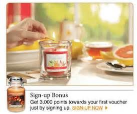 yankee candle fan club login earn free 5 vouchers with the yankee candle fan club