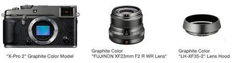 Fujifilm X Pro2 Only X140 fujifilm x pro2 graphite edition fuji addict