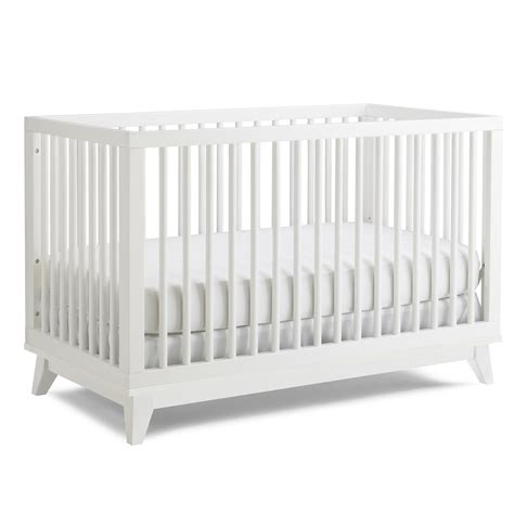 White Modern Cribs Iron Twine White Baby Cribs Modern Contemporary Baby Crib
