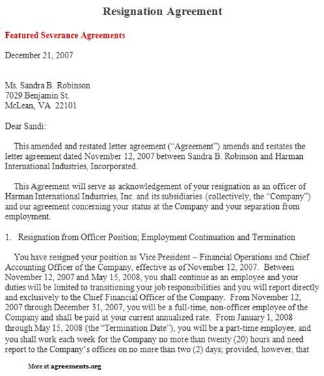 Agreement Letter Reply Payment Plan Contract Template Free Http Hotpropertyresales
