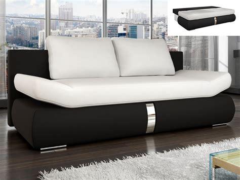 divano letto bianco divano letto in similpelle bianco e nero jaden
