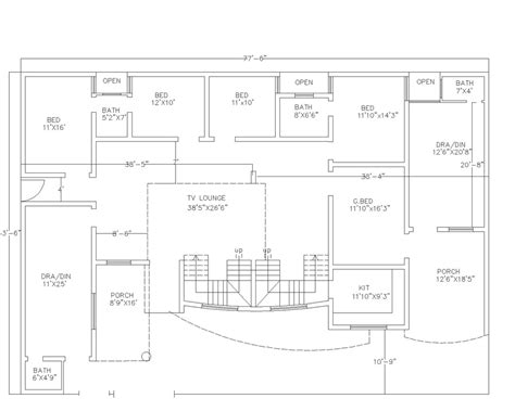 2d house plans gillani architects