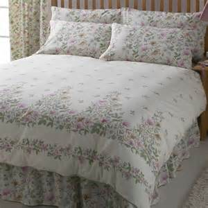 vantona country cottage garden duvet cover set multi