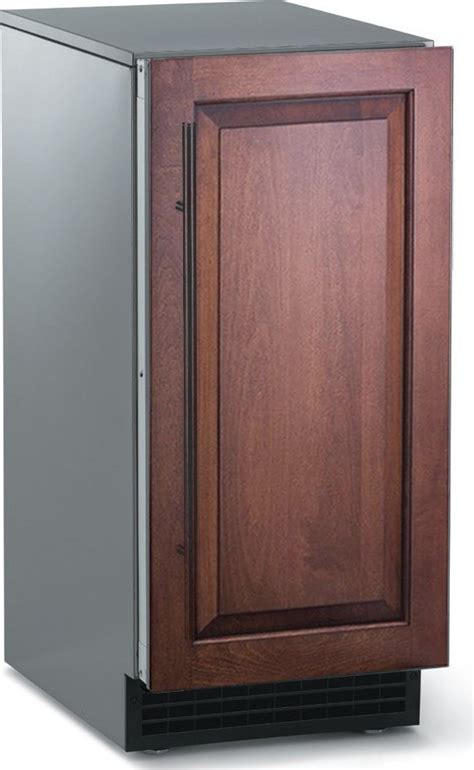 under cabinet ice maker drain sccp50ma1su scotsman 15 quot undercounter gourmet ice
